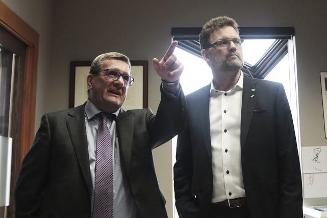 Le maire de Gatineau, Maxime Pedneaud-Jobin, a dû... (Etienne Ranger, Le Droit)