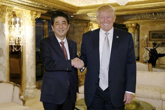 Le premier ministre japonais Shinzo Abe est le... (AFP)