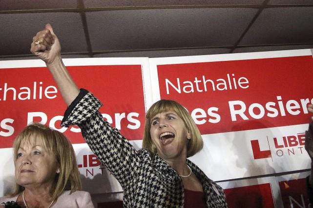 Nathalie Des Rosiers succède à l'ex-ministre Madeleine Meilleur... (Etienne Ranger, Le Droit)