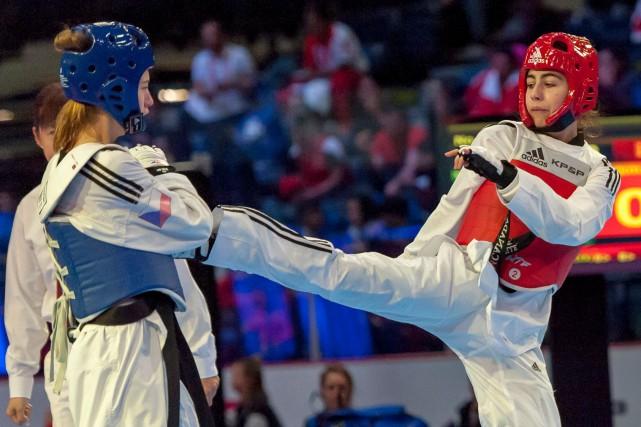 Viviane Tranquille a remporté son match de deuxième... (Taekwondo Canada)