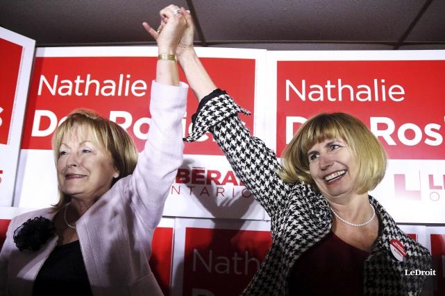 La victoire de Nathalie Des Rosiers, jeudi soir,... (Etienne Ranger, Le Droit)