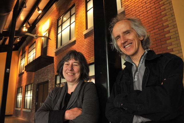 Lise Laforce et Mario Courchesne... (Photo: Stéphane Lessard)