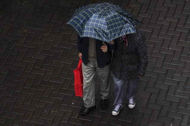 Tout porte à croire que 2016 va devenir l'année la plus chaude jamais... (AFP)