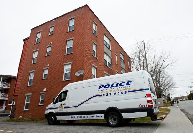 LeService de police de Sherbrookea démantelé, jeudi, un réseau de trafiquant... (Spectre Média : Jessica Garneau)