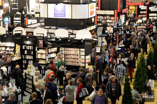 Plus de 2000 auteurs - dont huit invités d'honneur -, un bon millier de maisons... (PHOTO BERNARD BRAULT, LA PRESSE)