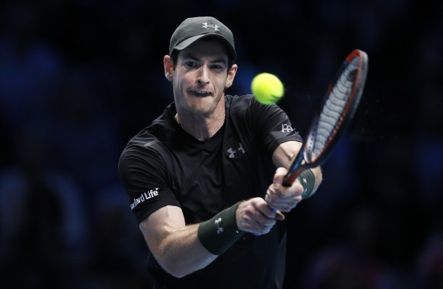 Le numéro 1 mondial Andy Murray a battu... (Photo Kirsty Wigglesworth, AP)