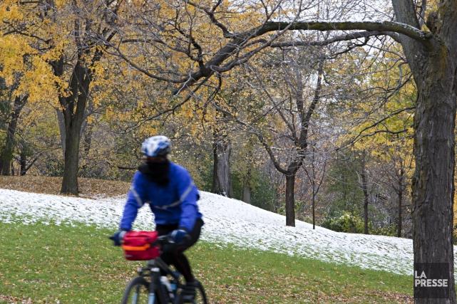 Environnement Canada vient de diffuser une alerte de neige pour les journées de... (Photo François Roy, archives La Presse)