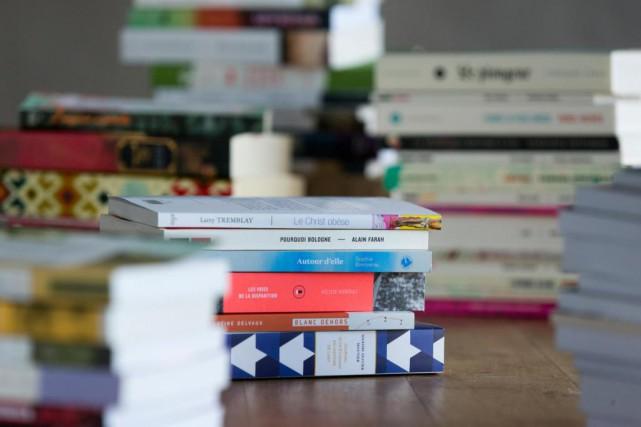 Depuis quelques années déjà, les «jeunes» maisons d'édition... (PHOTO FRANÇOIS ROY, LA PRESSE)