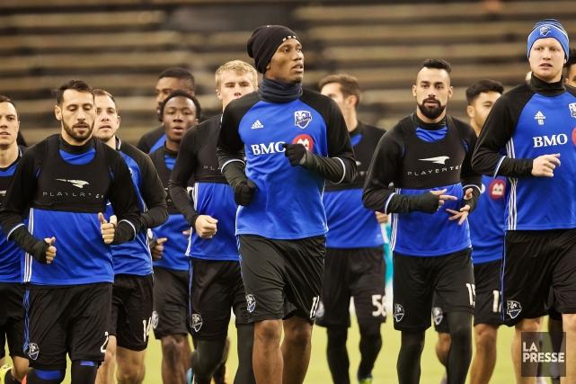 Didier Drogba (au centre)anticipe avec plaisir de se... (Photo André Pichette, La Presse)