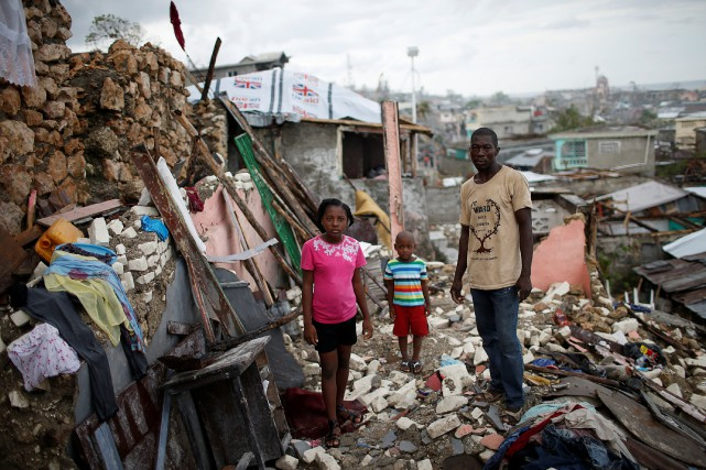 Les dégâts sont évalués d'après le FMI à... (Photo Reuters)