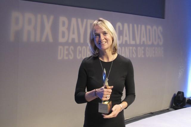Emma-Jane Kirbyaux Prix Bayeux-Calvados... (Courtoisie)