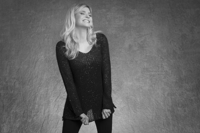 Andrea Lindsay a porté son premier bébé et son troisième album solo en français... (Courtoisie)