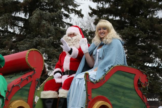 D'abord: un défilé du père Noël comme aujourd'hui... (archives La Voix de l'Est)