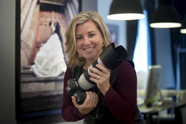Avant d'embrasser la carrière de photographe, Geneviève Trudel... (Sylvain Mayer)