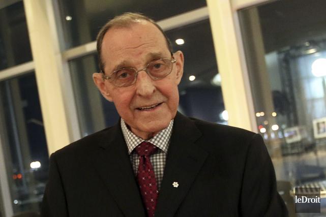 Bernard Grandmaître a été au devant des travaux... (Etienne Ranger, Archives Le Droit)