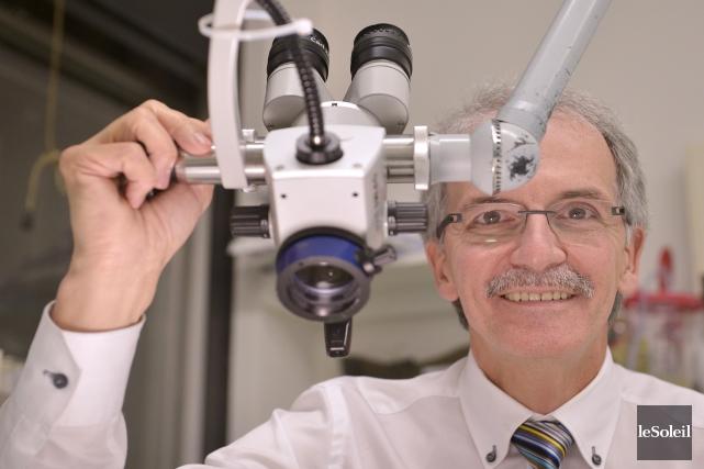 Le Dr Ferland adore autant son travail à... (Le Soleil, Yan Doublet)