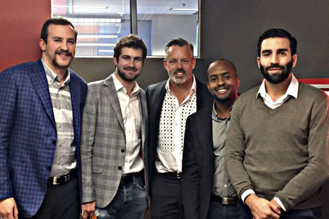 Les cinq partenaires de Boostmi sont Spencer Pringle,... (Fournie par Boostmi)