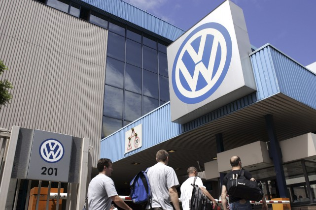 Volkswagen a annoncé vendredi la suppression de 30... (AFP, Thierry Monasse)