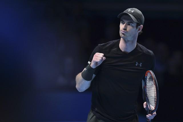 Andy Murray trône au somment de la hiérarchie... (AFP)