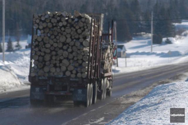 Le ministère des Transports du Québec a abaissé... (Archives Le Quotidien)