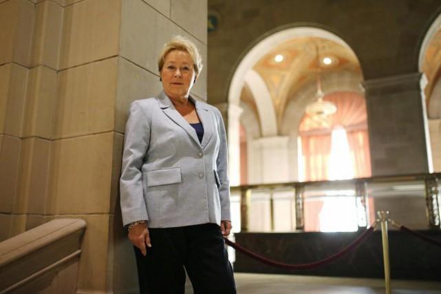 Pauline Maroisestime que le revers électoral de 2014... (La Presse, Martin Chamberland)