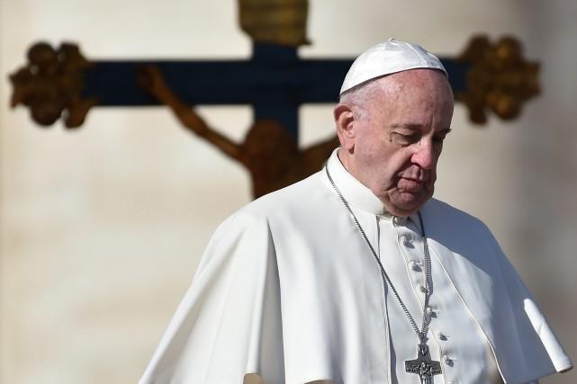 Le pape François semble intéressé à attaquer le... (AFP)