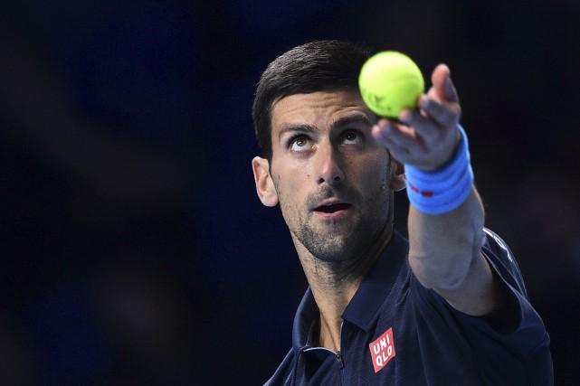 S'il l'emporte, Djokovic, qui a laminé samedi le... (AFP, Glyn Kirk)