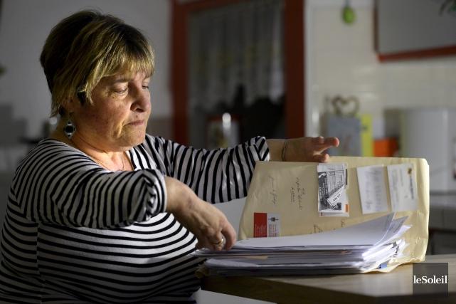 Marie Demers, victime de la thalidomide... (Le Soleil, Jean-Marie Villeneuve)