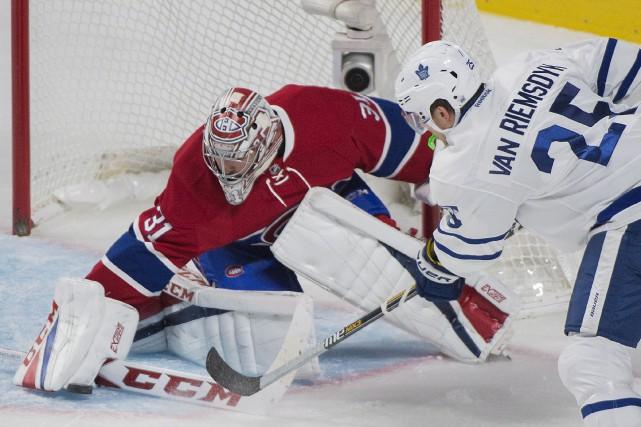 L'arrivée de jeunes et talentueux hockeyeurs chez les... (La Presse canadienne, Graham Hughes)