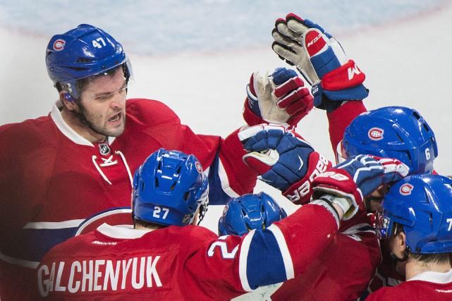 Alexander Radulov (47) a récolté deux passes dans... (La Presse canadienne, Graham Hughes)