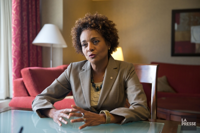 Michaëlle Jean... (PHOTO MARTIN CHAMBERLAND, ARCHIVES LA PRESSE)