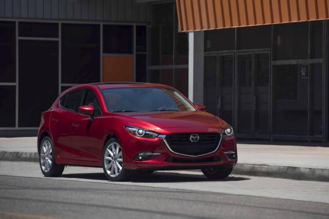 La Mazda3... (fournie par Mazda)
