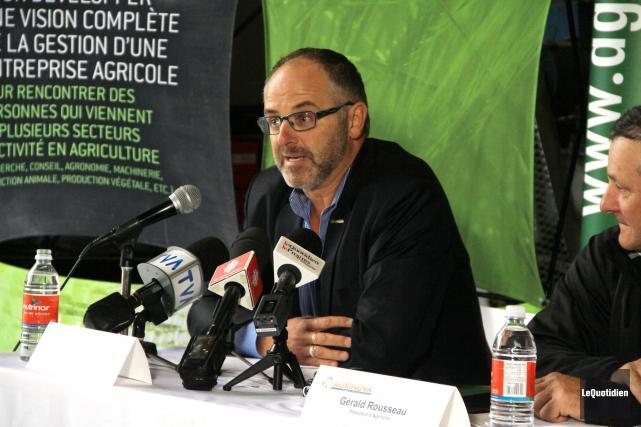 Richard Wieland, directeur de recherche chez Agrinova... (Photo Le Quotidien, Yohann Gasse)