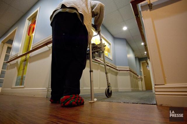 Les CHSLD du Québec, ces centres hospitaliers de soins de longue durée comme le... (Archives La Presse)