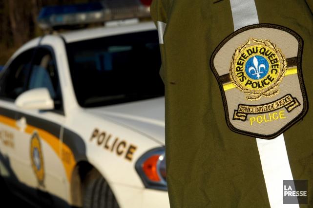 Sitôt le signalement fait, les policiers de Lévis... (Photothèque Le Soleil)