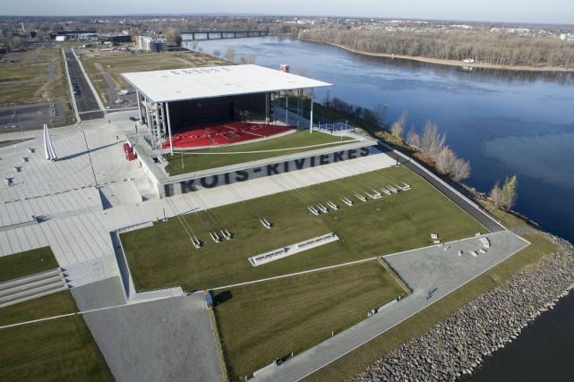 L'Amphithéâtre Cogeco de Trois-Rivières sera l'hôte d'un gala... (Stéphane Lessard)