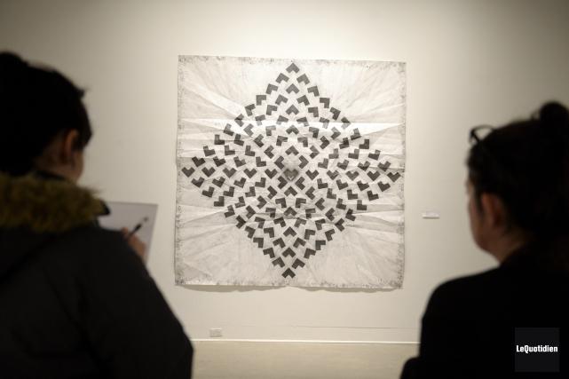 Duplication du carré est le fruit d'un travail... (Photo Le Quotidien, Jeannot Lévesque)