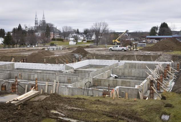 Le chantier de la future résidence pour personnes... (François Gervais)