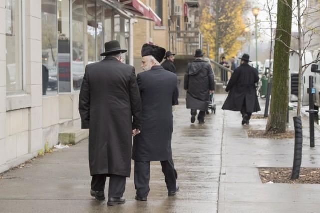 Les juifs hassidiques avaient tout récemment obtenu un... (La Presse canadienne, Ryan Remiorz)