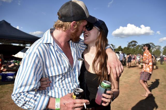 Pour les célibataires des deux sexes qui habitent... (AFP, Peter Parks)
