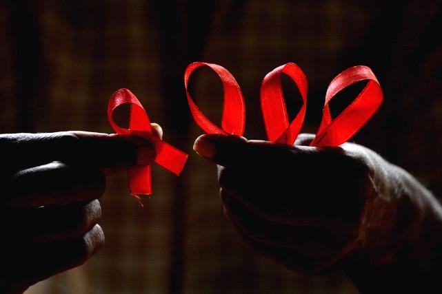 Environ la moitié des malades du sida ont... (Photothèque Le Soleil)