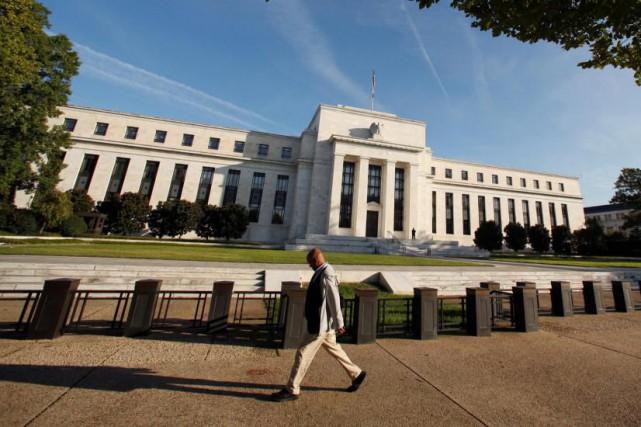 L'activité économique aux États-Unis a continué en mars sa croissance modérée,... (PhotoKevin Lamarque, Archives Reuters)