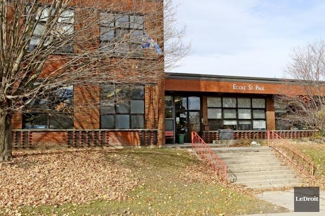 L'école Saint-Paul avait été fermée le 10 novembredernier.... (Patrick Woodbury, LeDroit)