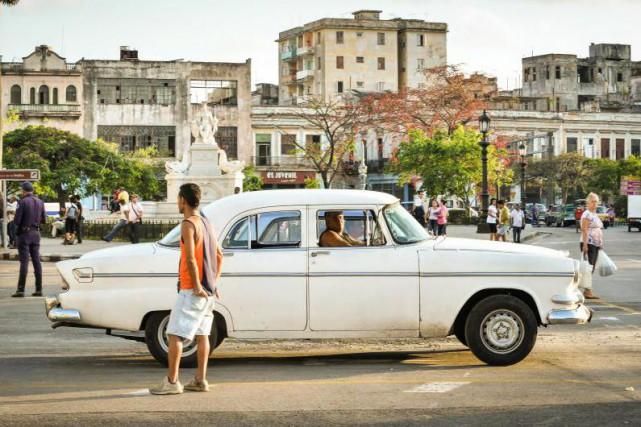 «Les Québécois, si nombreux à aller à Cuba... (PHOTO ADALBERTO ROQUE, archives Agence France-Presse)