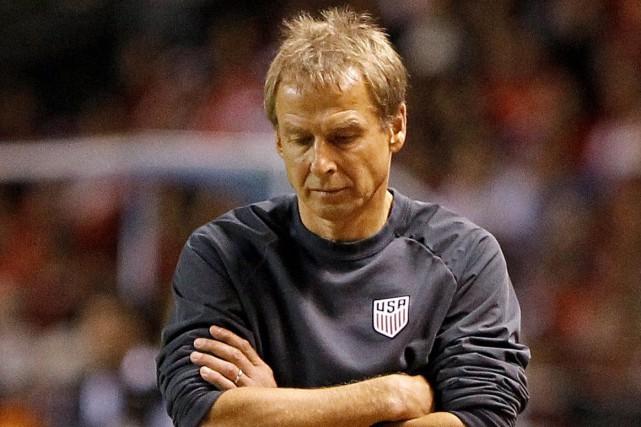 Le sélectionneur des États-Unis, Jürgen Klinsmann.... (PHOTO Juan Carlos Ulate, REUTERS)
