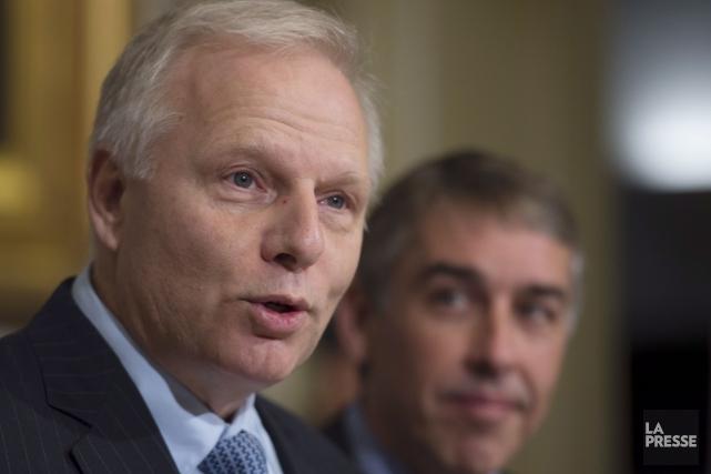 Le chef du Parti québécois, Jean-Francois Lisée... (La Presse canadienne)