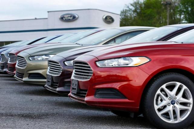 La Ford Fusion fait partie des modèles concernés... (photoKeith Srakocic, archives associated press)