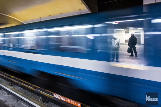 La semaine reprend où elle avait pris fin pour les usagers du métro de Montréal... (PHOTO OLIVIER PONTBRIAND, ARCHIVES LA PRESSE)