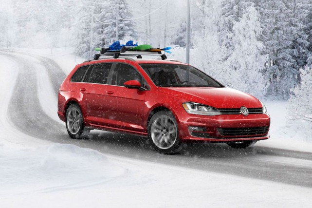 Le ski s'en vient !... (photo : volkswagen)