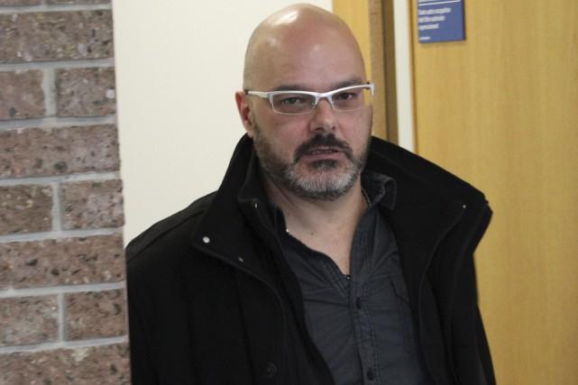 Éric Corriveau a plaidé coupable aux accusations portées... (La Tribune, René-Charles Quirion)